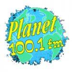 Planet 100.1 Logo